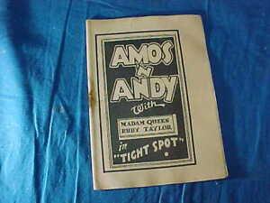1930s TIJUANA BIBLE RISQUE Comic Book AMOS N ANDY In TIGHT SPOT