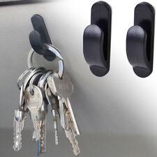 2pcs Black Auto Car Truck Self Adhesive Hook Bag Key Purse Holder Hanger