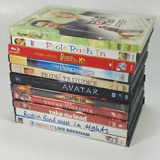 Lot of 11 DVDs Roger Rabbit Princess Bride Avatar Scorpion King Fools Rush In +