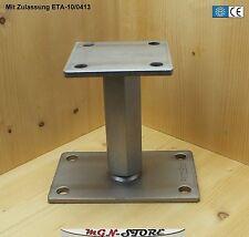 1 Stück PITZL® Pfostenträger Typ -P- ZiNiP Höhen verstellbar Nutzungsklasse 3