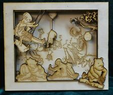 Classic Winnie the Pooh Layered Picture Frame