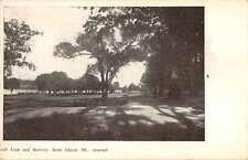 Rock Island Illinois Arsenal Golf Link and Battery Antique Postcard J58813