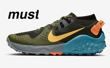 "Nike Wildhorse 6 ""Sequoia/Medium Olive/Cerulean/Topaz Gold"" Men's Running Shoe"