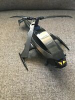 Vintage 1986 Kenner Super Powers Batman Batcopter Helicopter 99% Complete Smi