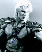 DOLPH LUNDGREN signed Autogramm 20x25cm MASTERS OF THE UNIVE in Person autograph
