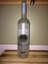 (10) Belvedere Vodka Collectors Edition 1 Liter Bottles - 007 James Bond Spectre