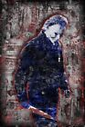 MICHAEL MYERS From HALLOWEEN , Halloween The Movie 12x18in Poster  FREE SHIPPING