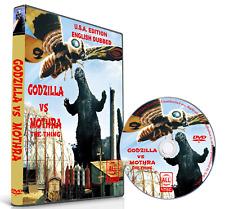 Mothra (The Thing) vs Godzilla 1964 English Dubbed Sci-Fi Classic