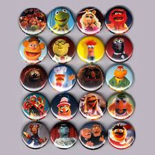 "THE MUPPETS 1"" PINS / BUTTONS (kermit piggy fozzy gonzo show caper shirt toys)"