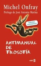 Antimanual de Filosofia by Michael Onfray and Michel Onfray (2016, Paperback)