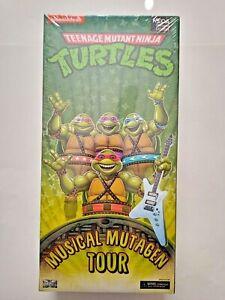 Teenage Mutant Ninja Turtle TMNT Musical Mutagen Tour 2020 Con NEW NECA