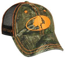 Mossy Oak Break-Up Infinity Camo MESH BACK Frayed Visor Hunting Cap/Hat MOFS11F