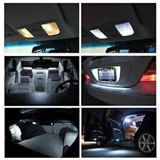 12x White Interior LED Lights Package Kit Fits 2009-2016 Chevy Traverse #A91