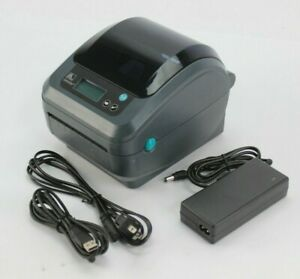 Zebra GX420D LED USB Ethernet Network LAN Direct Thermal Label Printer