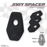 Adapter Platten zur Montage LED Mini Blinker Suzuki GSX-S 1000 mounting plates