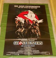 original GHOSTBUSTERS German movie poster Bill Murray Dan Aykroyd Harold Ramis