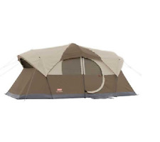 This 10 person Weathermaster tent from Coleman is like having cabin comfort