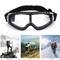Anti Wind Goggles Snow Snowboard Skiing Sunglasses Snowmobile Face Mask Eyewear