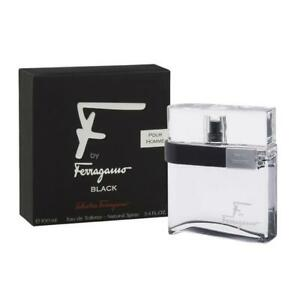 SALVATORE FERRAGAMO F By Ferragamo Black Pour Homme 100ML Spray EDT