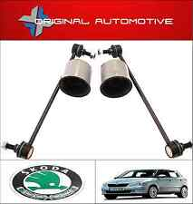 FITS SKODA FABIA 2000-2007 FRONT WISHBONE ARM BUSHS & STABILISER LINK DROP BARS