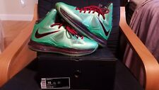 Lebron X 10 Cutting Jade Sz. 10 with Box ! Great Condition !