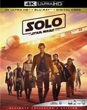 SOLO: A STAR WARS STORY 4K ULTRA HD Disc+Case - No Blu Ray No Digital