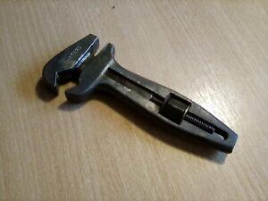 Vintage Stahl double side tool roll adjustable spanner