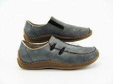 Rieker Celia Women Blue Loafer Driving Shoe US 9M EUR 40 Pre Owned GQ