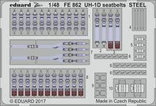 Eduard 1/48 Cloche UH-1D Ceintures de Sécurité Acier #FE862