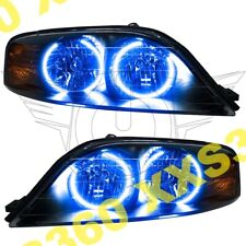 ORACLE Halo HEADLIGHTS for Lincoln LS 00-02 BLUE LED Angel Demon Eyes