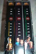 THE X-FILES 3 VHS VIDEO BOX SET SQUEEZE/TOOMS DARKNESS FALL 6 EPISODES
