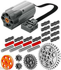 Lego Power Functions M-Motor Kit  (technic,car,truck,axle,gear,pin,pulley,tank)