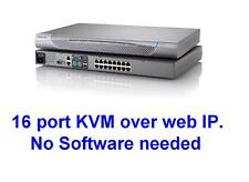 Raritan DKX416 KX416 16 Port 4 User KVM OVER IP Switch TESTED.No Software needed