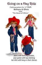 """K12011  Hay Ride pattern for 12"""" Kish Bethany & Olivia"""