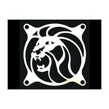 80mm Laser cut Chrome Steel Lion Fan Grill