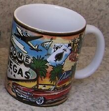 Coffee Mug Explore America Las Vegas Welcome Sign NEW 11 ounce cup with gift box