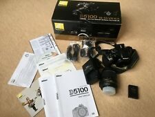 Nikon D5100 Digital SLR Camera with 18-55mm VR Lens Kit (16.2MP) Excellent cond