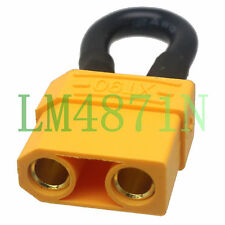 XT90 Female Shorting Adapter dust cover cap boot internal fit battery test Loop