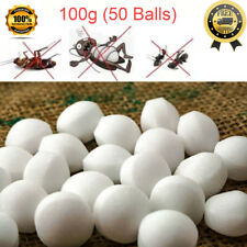 Moth Balls Pest Insect Control Anti Mold Repellent Camphor Scented Cloth Shield