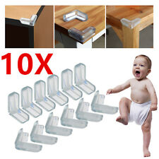 10pcs Clear Baby Safety Table desk Edge Corner Cushion Guard Bumper Protector