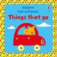 Cosas que van (desplegable Libros) Por Fiona Watt   Board Libro Libro   9781474926355