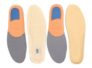 UGG Mens Twinsole Insole 2 Pair Set Leather/Wool Natural Size 12 1002