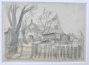 Kliefert, Erich(1893 Berlin–1994 Stralsund)Auf der Kurischen Nehrung-Nidden 1931