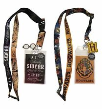 Harry Potter Lanyard Bundle Hogwarts and Up to No Good Ticket Holder New