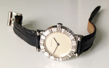 Women's TIFFANY & Co. Atlas 925 Sterling Silver Quartz Watch. 24mm Silver Dial.