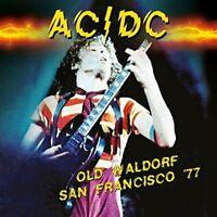 AC/DC - Old Waldorf San Francisco '77 (2017)  CD  NEW/SEALED  SPEEDYPOST