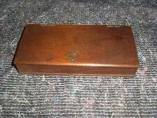 Small Antique  Mahogany Wooden Box