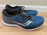 Saucony Guide 13 Mens Blue Running Lace Up S20548-25 Athletic Shoes Size 12