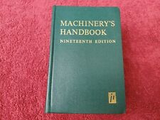 Machinery's Handbook 19th Edition