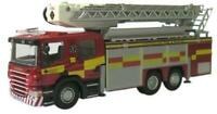 BNIB OO GAUGE OXFORD DIECAST 1:76 76SAL001 STRATHCLYDE FIRE AERIAL RESCUE PUMP